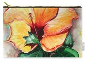 Hibiscus  Sunny Carry-all Pouch