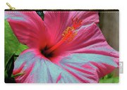 Hibiscus With A Solarize Effect Carry-all Pouch