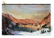 Hidden Lake Western United States Carry-all Pouch