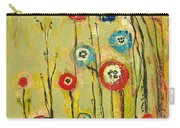 Hidden Poppies Carry-all Pouch by Jennifer Lommers