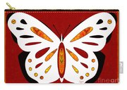 Hidden Possibilities And Abstract Butterflies By Omashte Carry-all Pouch