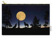 Hidden Wolves Carry-all Pouch by Shane Bechler