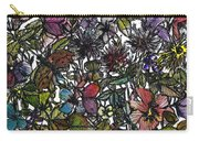 Hide And Seek In Wildflower Bushes Carry-all Pouch