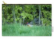 Hiding In The Grass. Pheasant Carry-all Pouch