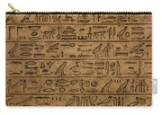 Hieroglyph Carry-all Pouch