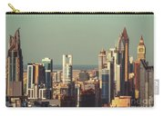 High-angle View Of Dubai's Towers At Sunset.  Carry-all Pouch
