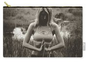 High Contrast Meditation Meadow Carry-all Pouch