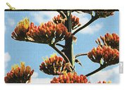 High Country Red Bud Agave Carry-all Pouch