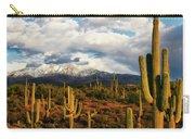 High Desert Snow Carry-all Pouch