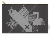 High Enough Monochrome Carry-all Pouch