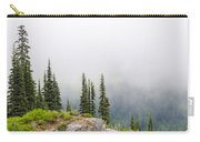 High Forest On Mt. Rainier Carry-all Pouch