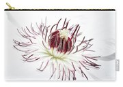 High Key Clematis Carry-all Pouch
