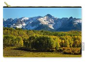 High Peaks Of The San Juan Mountains Carry-all Pouch