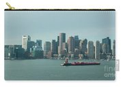 High Resolution Panoramic Of Downtown Boston During The Day Carry-all Pouch