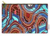 High Rise Abstract Phoenix Carry-all Pouch