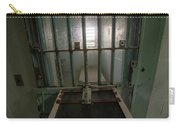 High Risk Solitary Confinement Cell In Prison Through Bars Carry-all Pouch