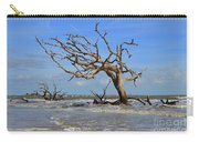 High Tide On Driftwood Beach Carry-all Pouch