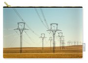 High Voltage Power Lines Carry-all Pouch