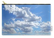 High Winds Chase The Rain Clouds Away Carry-all Pouch