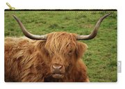 Highland Coo Carry-all Pouch