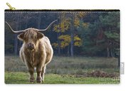 Highland Cow In France Carry-all Pouch