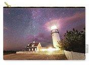 Highland Light Truro Massachusetts Cape Cod Starry Sky Shadow Yard Carry-all Pouch