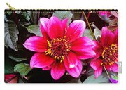 Highlands Ranch Floral Study 1 Carry-all Pouch