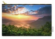 Highlands Sunrise - Whitesides Mountain In Highlands Nc Carry-all Pouch