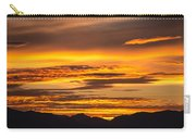 Highway 2 Sunrise Carry-all Pouch