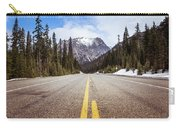 Highway 20 On Rainy Pass In North Cascades National Park Carry-all Pouch
