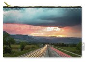Highway 36 To Beautiful Boulder Colorado Carry-all Pouch