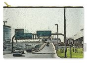 Highway In Dubai Carry-all Pouch