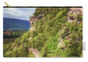 Hike Up Mt Iron Wanaka New Zealand Carry-all Pouch