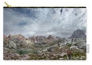 Hiker At Twin Lakes - Chicago Basin - Weminuche Wilderness - Colorado Carry-all Pouch