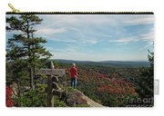 Hiker In Acadia National Park Carry-all Pouch