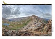 Hikers On Columbine Pass - Weminuche Wilderness - Colorado Carry-all Pouch