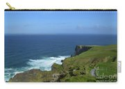 Hiking Path Along The Top Of The Cliff's Of Moher Carry-all Pouch