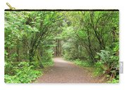 Hiking Trail Along Lewis And Clark River Carry-all Pouch