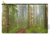 Hiking Trail In Washington State Park Carry-all Pouch