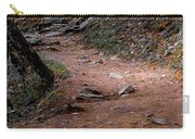 Hiking Trail To Abrams Falls Carry-all Pouch by DigiArt Diaries by Vicky B Fuller