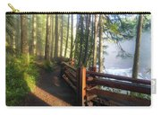 Hiking Trails At Lower Lewis River Trail Carry-all Pouch