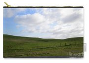 Hiking Trails, Rolling Hills And Grass Fields In Ireland Carry-all Pouch
