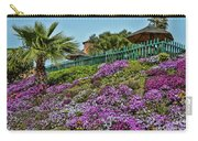 Hill Of Flowers Carry-all Pouch