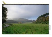 Hill Tops In Mist. Carry-all Pouch