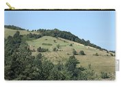Hill With Haystack And Trees Landscape Carry-all Pouch