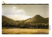 Hills And Fields Of Trial Harbour Carry-all Pouch