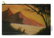 Hills During Sunset Carry-all Pouch