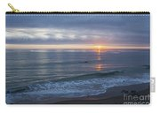 Hills Of Clouds With Ocean Sunset Carry-all Pouch