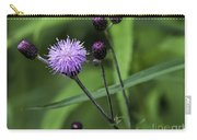 Hill's Thistle Flower And Buds Carry-all Pouch