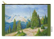 Hillside In Spring, 9x12, Oil, '07 Carry-all Pouch